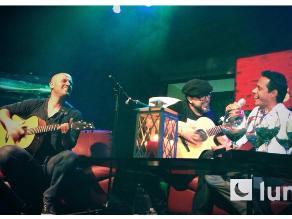 Marc Anthony sorprende a Gian Marco en pleno concierto
