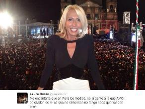Laura Bozzo: me encantaría que los medios en Perú se olviden de mí