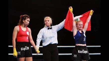 Oro para Perú: Valentina Shevchenko campeona mundial en Muay Thai