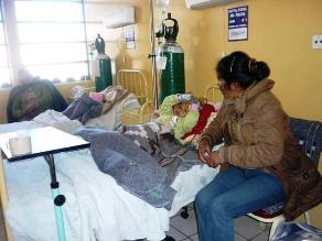 Huancayo: 95 % de los casos de neumonía fueron combatidos