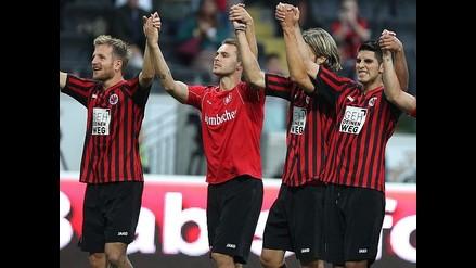 Frankfurt quiere asegurar liderato del grupo F por Europa League