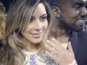 Kim Kardashian y su reacción luego que Kanye West le pide matirmonio