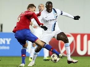 UEFA investiga por qué no se aplicó medida antirracista en CSKA vs. City