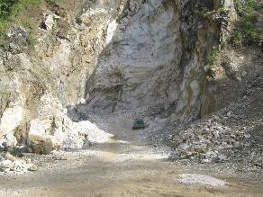 Tarma: Pobladores de Tapo en contra de explotación de mármol