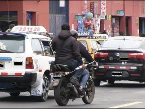Motos con dos personas a bordo representan peligro para trujillanos