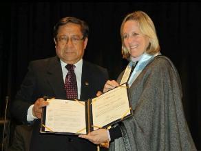 Mujeres científicas de universidad peruana fueron reconocidas por ANR