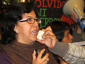 Tomarán las calles si se acepta arresto domiciliario a Fujimori