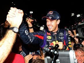 Sebastian Vettel: Es uno de los mejores días en mi vida hasta ahora