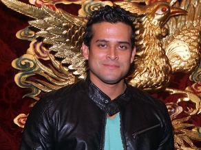 Christian Domínguez sufre accidente automovilístico