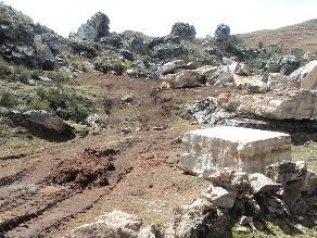Concepción: Denuncian extracción de mármol de sitio arqueológico