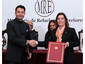 Canciller Eda Rivas ratifica interés de Perú e India en suscribir TLC