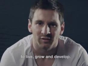 Lionel Messi festeja cumpleaños de Thiago con video de apoyo para niños