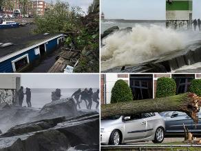 En imágenes: países de Europa afectados por fuertes tormentas