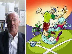 Beckenbauer: Aliens quieren jugar con nosotros. Si perdemos nos destruyen