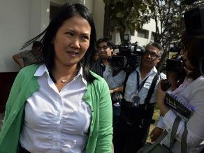 Keiko Fujimori anuncia que apelarán decisión sobre arresto domiciliario
