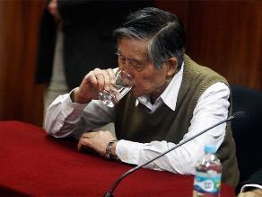 Pedido de arresto domiciliario para  Alberto Fujimori fue rechazado