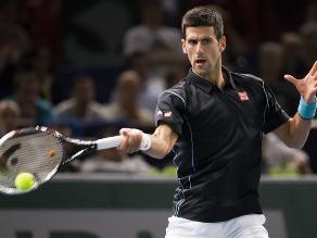 Novak Djokovic se instaló en los octavos de final del Masters 1000 de París