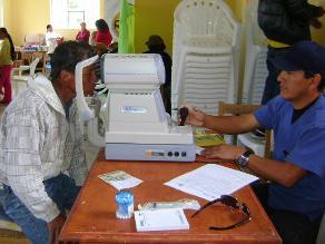 Junín: Más de 7 mil personas sufren de enfermedades a los ojos