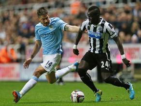 Manchester City ganó 2-0 a Newcastle en la prórroga de Copa de la Liga