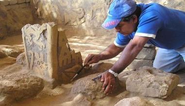 Descubren centro religioso de tres mil años al norte del país