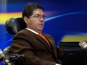 Acusaciones constitucionales define denuncias contra Urtecho