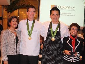 Destacados chef lograron meta en cena de Condoray