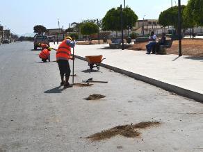 Virú: Tras 17 meses reinicia remodelación de Plaza de Armas de Chao