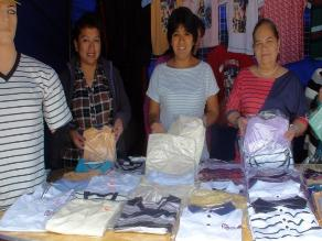 Chiclayo: Madres emprendedoras exponen artesanía elaborada en talleres