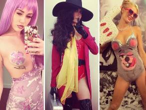 Divas de Hollywood se disfrazan por Halloween