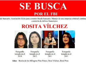 FBI busca a peruana Rosita Vílchez acusada de fraude financiero