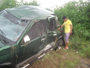 Sánchez Carrión: Un muerto y tres heridos deja accidente de tránsito
