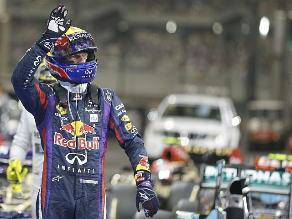 Mark Webber obtuvo la ´pole´ en el Gran Premio de Abu Dabi