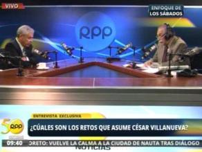 Villanueva: Conga se resolverá con diálogo, no queremos imponer las cosas
