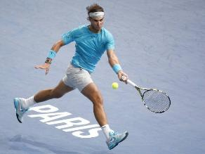 Rafael Nadal cayó ante David Ferrer en semifinales del Masters de París