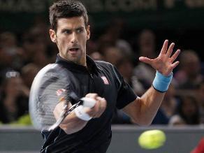 Novak Djokovic venció a Ferrer en París y sueña con destronar a Nadal