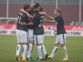 Inter goleó a Udinese y se mantiene en primeros puestos de la Serie A