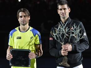 Reviva el triunfo de Djokovic sobre Ferrer en el Masters 1.000 de Bercy