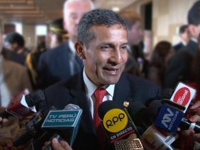 Humala responde a Pilar Nores tras críticas a programas sociales