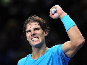 Nadal gana Ferrer y queda a un triunfo de terminar el 2013 como número 1
