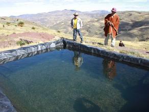 La Libertad: Implementan riego tecnificado en 5 caseríos de Quiruvilca