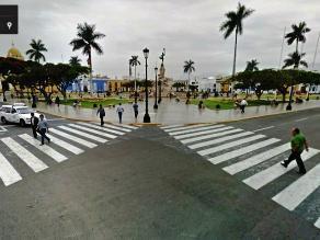 Trujillo: Conductores molestos al no poder girar en la Plaza de Armas