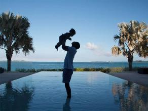 Beyoncé comparte una tierna foto de Jay Z y Blue Ivy