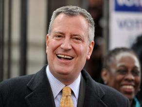 Bill de Blasio fue elegido alcalde de Nueva York, según sondeos
