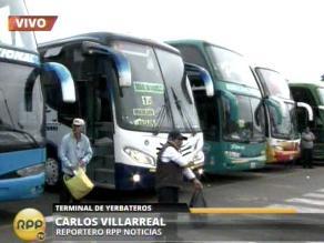 Aprueban proyecto que regula servicio de transporte público terrestre
