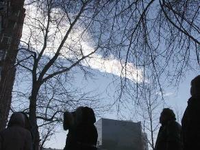 Meteorito de Chelyabinsk se fragmentó a unos 45 kilómetros de la Tierra
