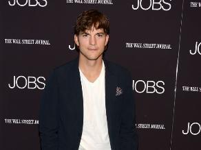 Ashton Kutcher en el detrás de cámaras de la película Jobs