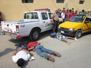Capturan a banda que asaltaba farmacias en Chiclayo