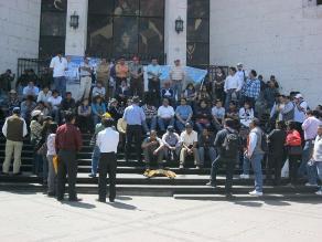 Chimbote: Jueces acatan paralización de 48 horas por remuneraciones