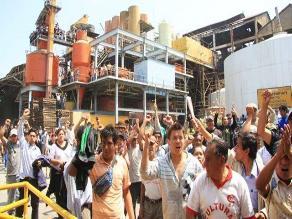Trabajadores de Pucalá alistan vigilia al interior de fábrica