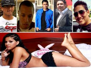 Katty García y algunos de sus fugaces amores